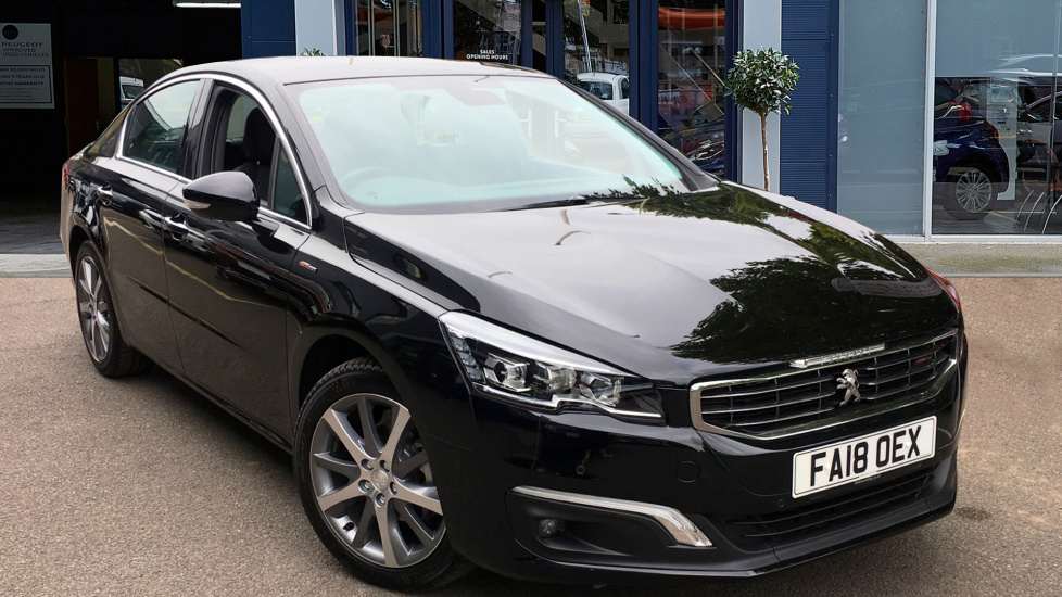 Used Peugeot 508 Saloon 1.6 BlueHDi GT Line Auto (s/s) 4dr