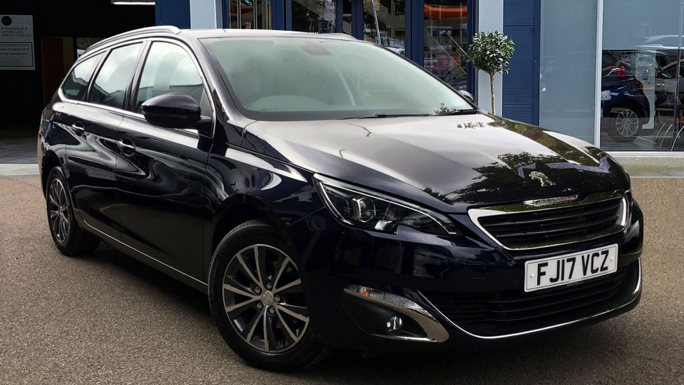 Used Peugeot 308 SW Estate 1.6 BlueHDi Allure 5dr (start/stop)