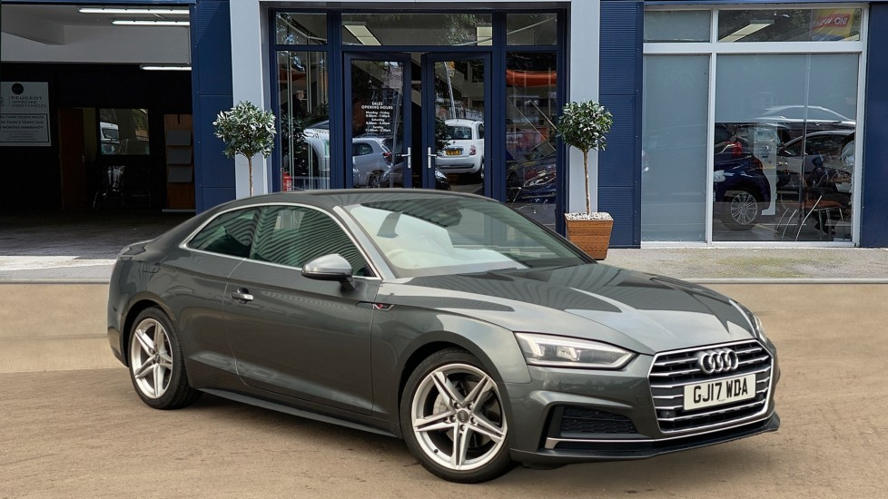 Used Audi A5 Coupe 2.0 TDI S line S Tronic (s/s) 2dr
