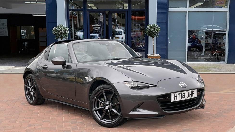 Used Mazda MX-5 RF Convertible 2.0 SKYACTIV-G Sport Nav Auto 2dr