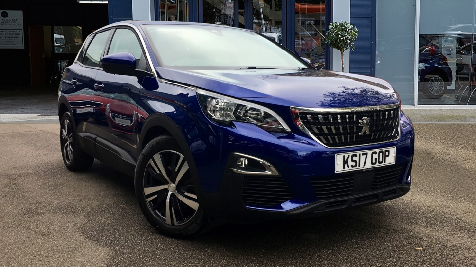 Used Peugeot 3008 SUV SUV 1.6 BlueHDi Active SUV 5dr (start/stop)