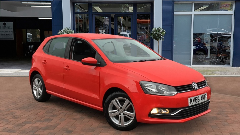 Used Volkswagen Polo Hatchback 1.0 BlueMotion Tech Match (s/s) 5dr