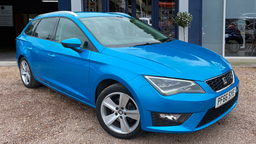 Used Seat Leon Estate 1.4 EcoTSI FR (Tech Pack) ST DSG (s/s) 5dr