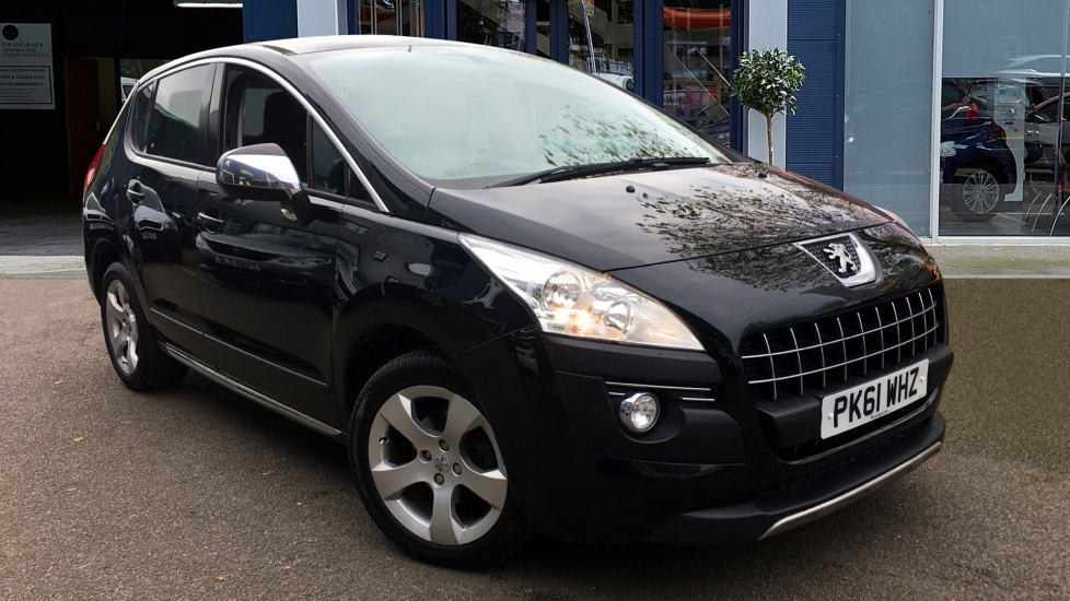Used Peugeot 3008 SUV 1.6 HDi FAP Exclusive SUV 5dr