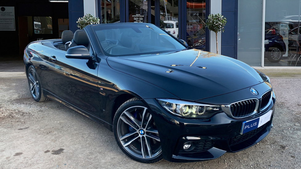 Used BMW 4 SERIES Convertible 2.0 420d M Sport 2dr
