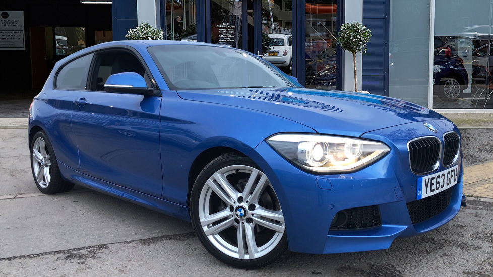 Used BMW 1 SERIES Hatchback 2.0 116d M Sport Sports Hatch (s/s) 3dr