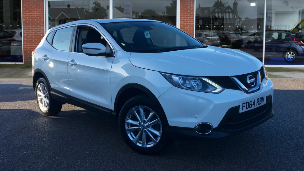 Used Nissan QASHQAI SUV 1.5 dCi Acenta (Smart Vision Pack) 5dr