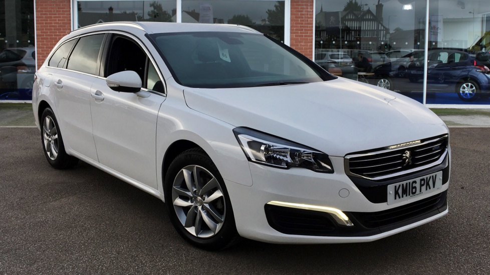 Used Peugeot 508 SW Estate 1.6 BlueHDi Active Auto 5dr (start/stop)
