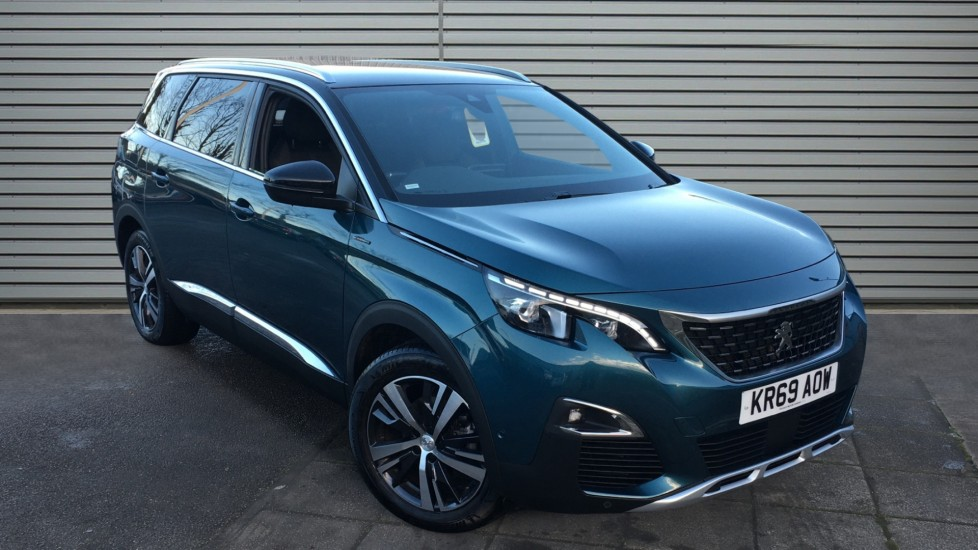 Used Peugeot 5008 SUV 1.5 BlueHDi GT Line EAT (s/s) 5dr