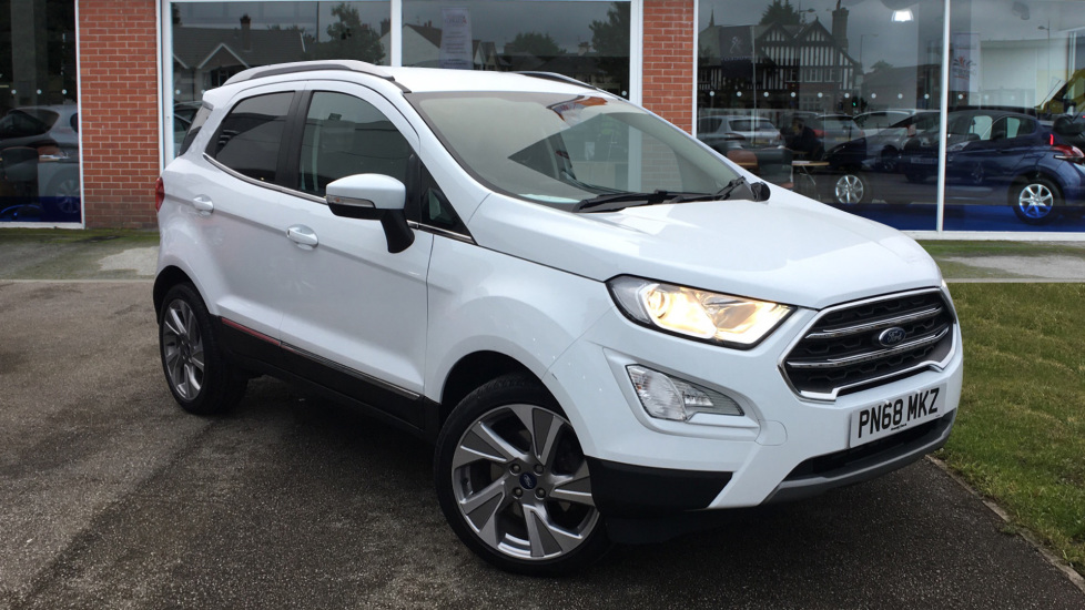 Used Ford EcoSport SUV 1.0T EcoBoost Titanium (s/s) 5dr