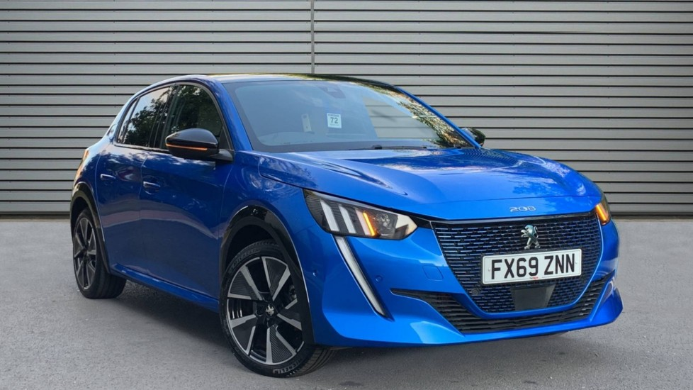 Used Peugeot e-208 Hatchback 50kWh GT Auto 5dr