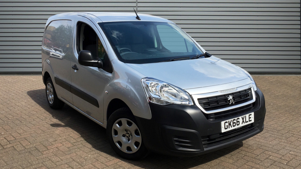 Used Peugeot PARTNER Panel Van 1.6 BlueHDi BlueHDi (Eu6) Professional L1 850 4dr (start/stop)