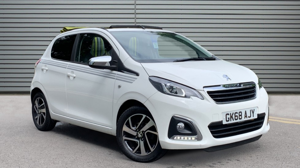 Used Peugeot 108 Convertible 1.0 Collection Top! 5dr