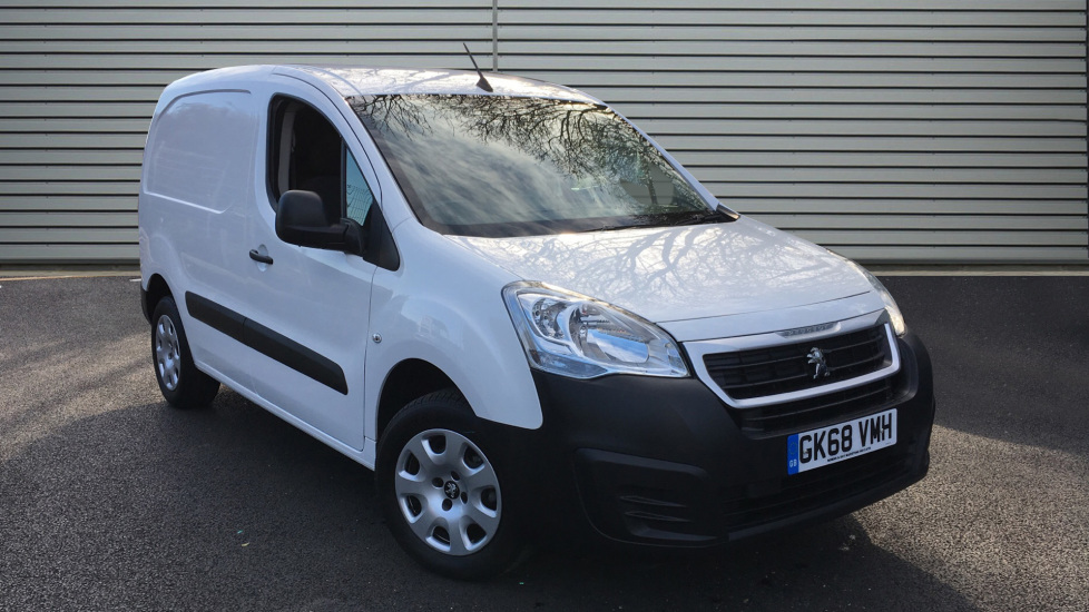 Used Peugeot Partner Panel Van 1.6 BlueHDi 1000 Professional 4dr