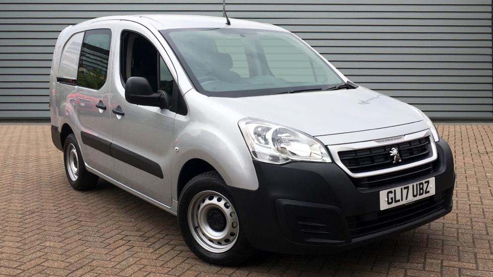 Used Peugeot PARTNER Combi Van 1.6 BlueHDi (Eu6) S L2 744 Crew Van 6dr