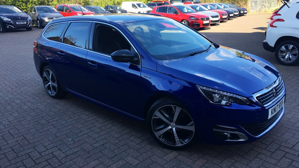 Used Peugeot 308 SW Estate 1.6 BlueHDi GT Line EAT6 (s/s) 5dr
