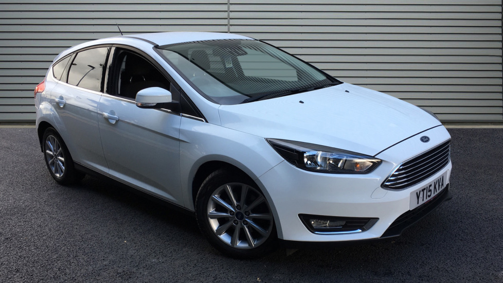 Used Ford FOCUS Hatchback 1.6 Titanium Powershift 5dr