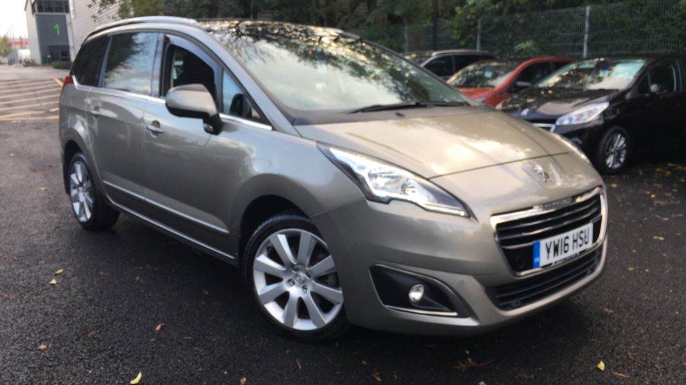 Used Peugeot 5008 MPV 1.6 BlueHDi Allure EAT6 (s/s) 5dr