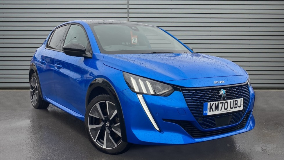 Used Peugeot e-208 Hatchback 50kWh GT Line Auto 5dr