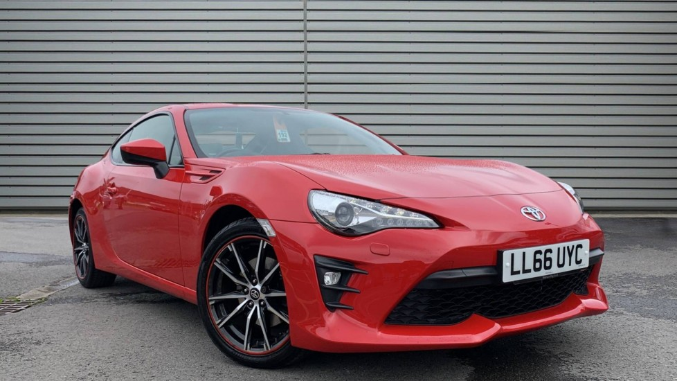 Used Toyota GT86 Coupe 2.0 Boxer D-4S Pro 2dr