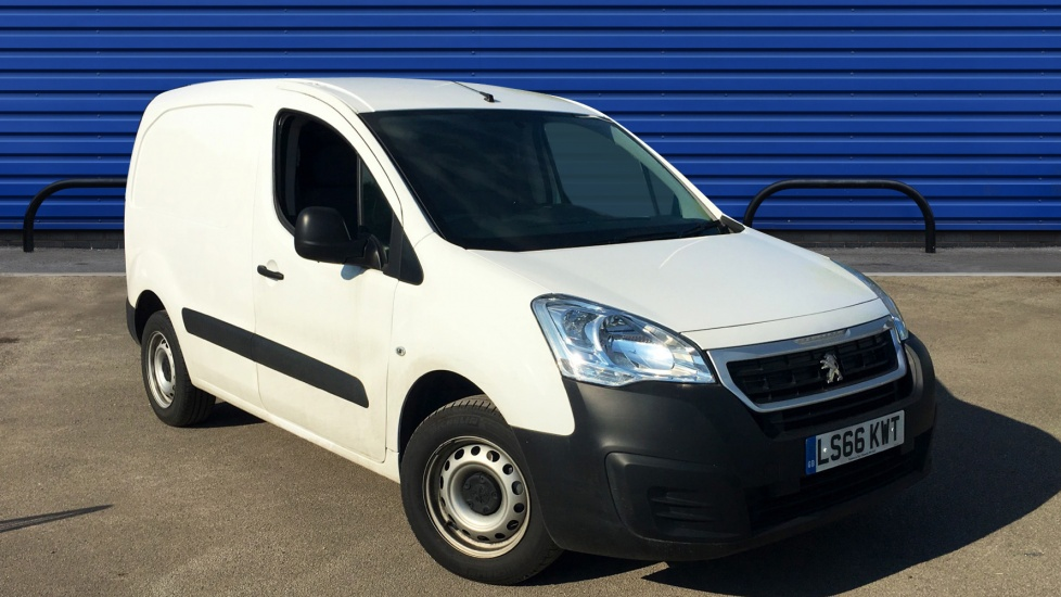 Used Peugeot PARTNER Panel Van 1.6 BlueHDi (Eu6) SE L1 850 4dr (start/stop)