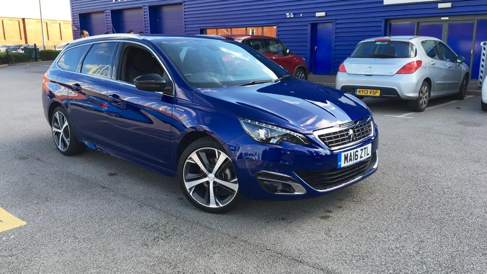 Used Peugeot 308 SW Estate 1.6 BlueHDi GT Line EAT6 5dr (start/stop)