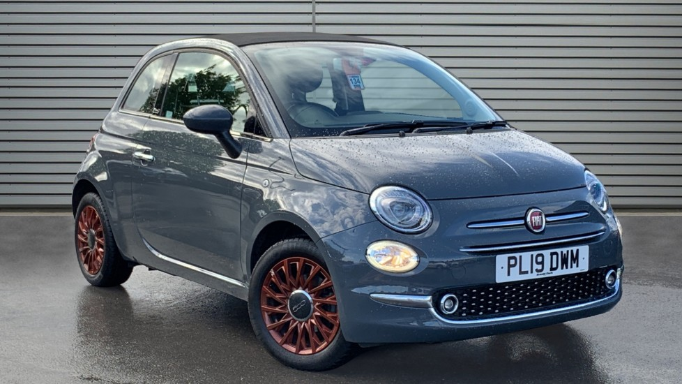 Used Fiat 500C Convertible 1.2 8V Lounge (s/s) 2dr