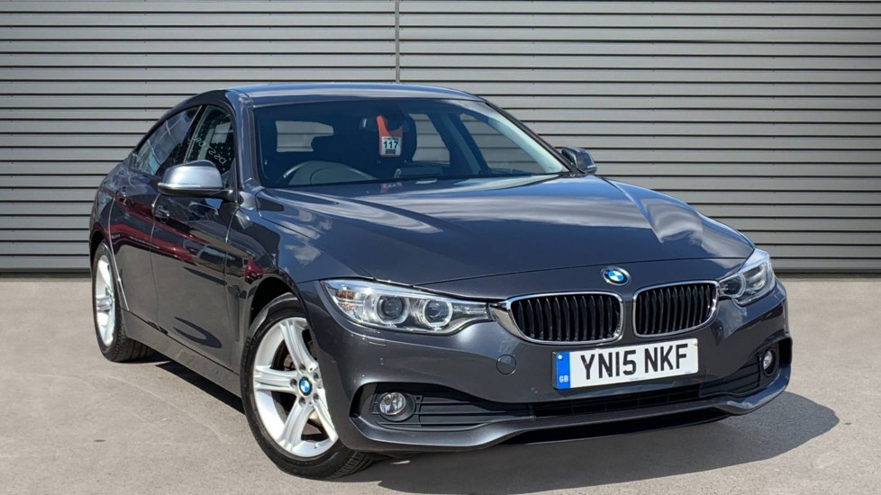 Used BMW 4 Series Gran Coupe Hatchback 2.0 420d SE Gran Coupe Auto (s/s) 5dr