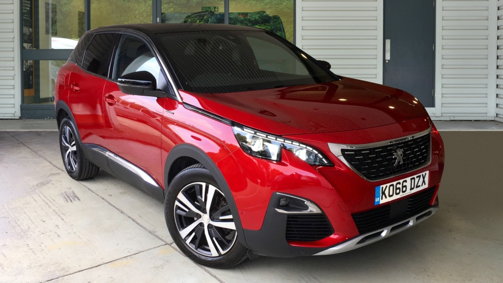 Used Peugeot 3008 SUV SUV 1.2 PureTech GT Line SUV 5dr (start/stop)