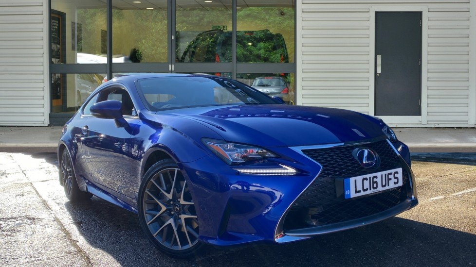 Used Lexus RC 300h Coupe 2.5 300h F Sport CVT (s/s) 2dr