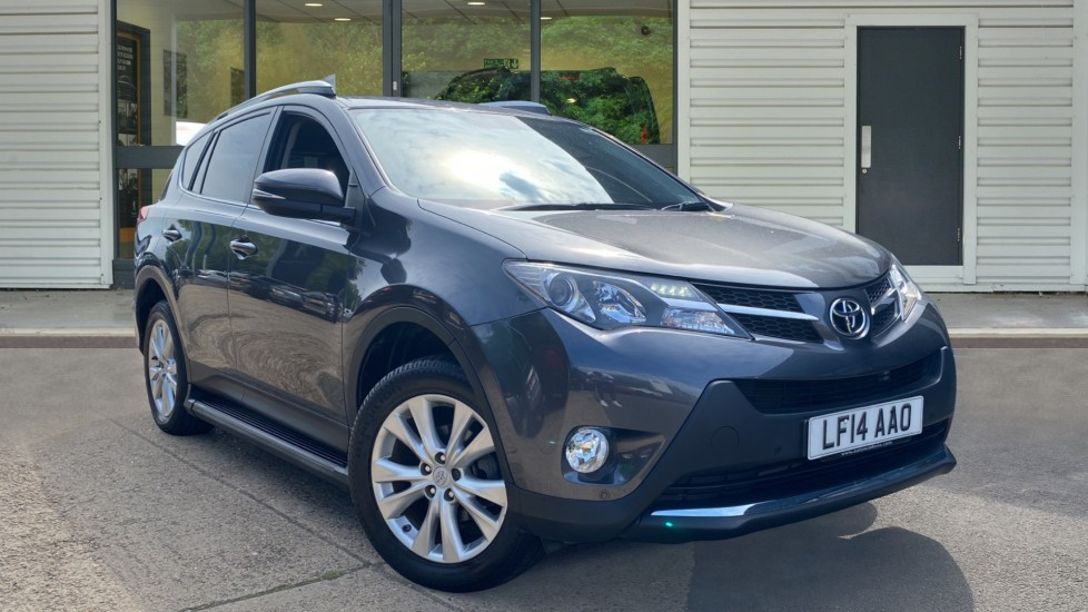 Used Toyota RAV4 SUV 2.2 D-CAT Invincible 4WD 5dr
