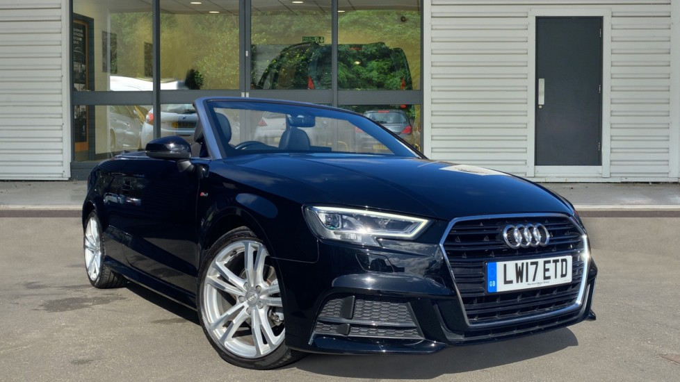 Used Audi A3 Cabriolet Convertible 1.4 TFSI CoD S line Cabriolet S Tronic (s/s) 2dr