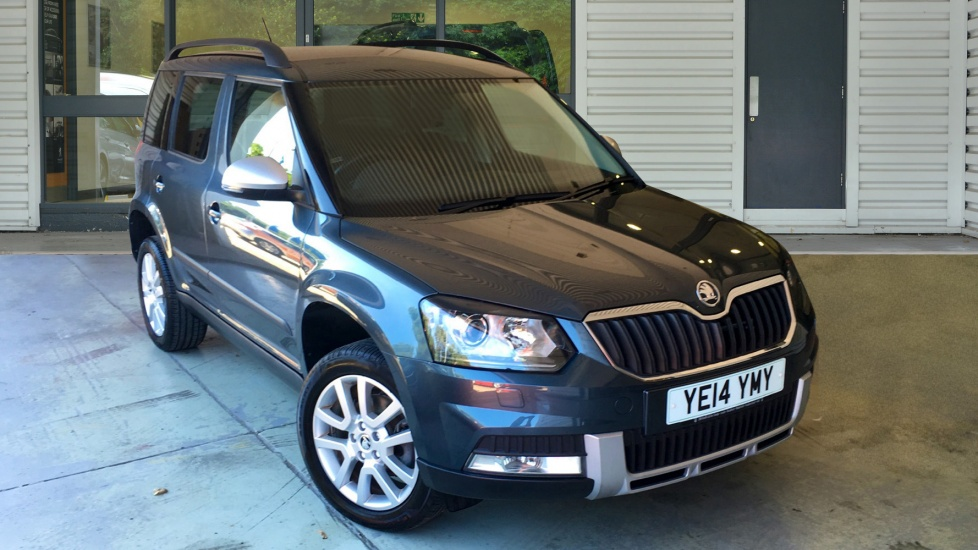 Used Skoda YETI OUTDOOR SUV 2.0 TDI CR Elegance Station Wagon DSG 4x4 5dr