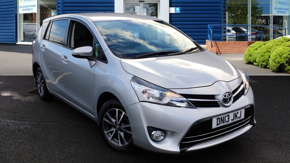 Used Toyota VERSO MPV 1.8 V-Matic Icon M-Drive S 5dr (7 Seat)
