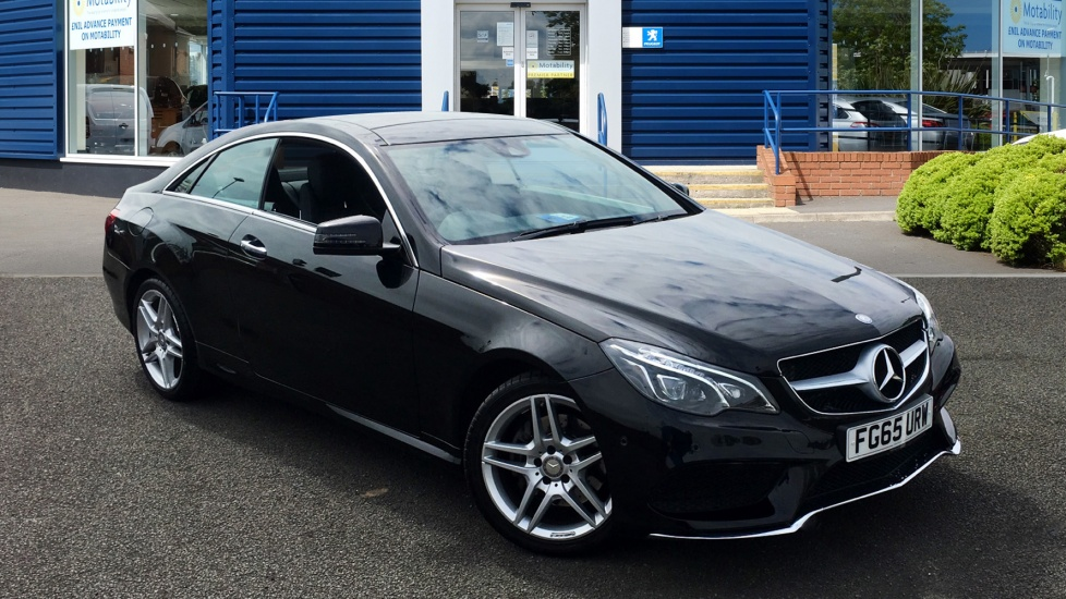 Used Mercedes-benz E CLASS Coupe 2.1 E220 CDI BlueTEC AMG Line (Premium) 7G-Tronic Plus 2dr (start/stop)