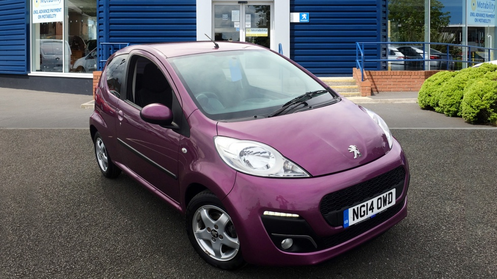 Used Peugeot 107 Hatchback 1.0 12v Allure 3dr