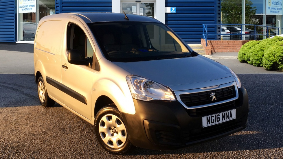 Used Peugeot PARTNER Panel Van 1.6 HDi Professional L1 625 4dr