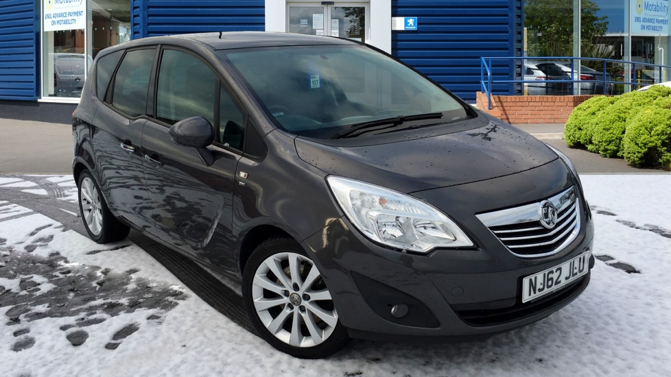 Used Vauxhall MERIVA MPV 1.7 CDTi 16v SE 5dr (a/c)