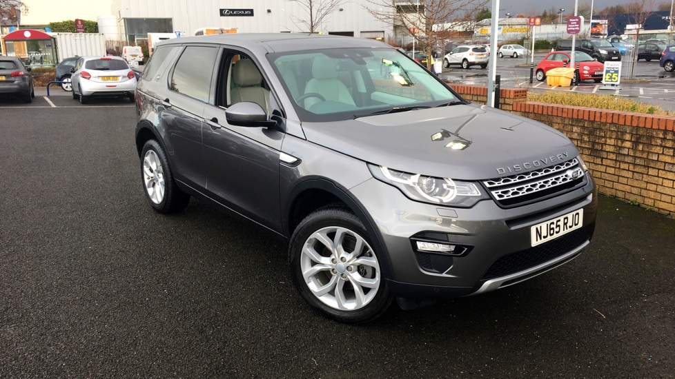 Used Land Rover DISCOVERY SPORT SUV 2.0 TD4 HSE 4X4 5dr