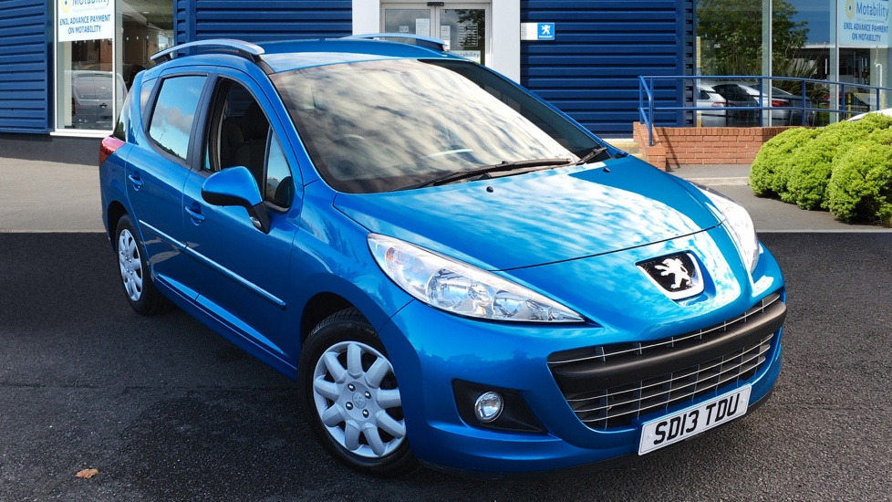 Used Peugeot 207 SW Estate 1.6 HDi Active 5dr