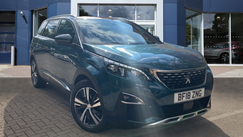 Used Peugeot 5008 SUV 1.6 BlueHDi GT Line EAT (s/s) 5dr