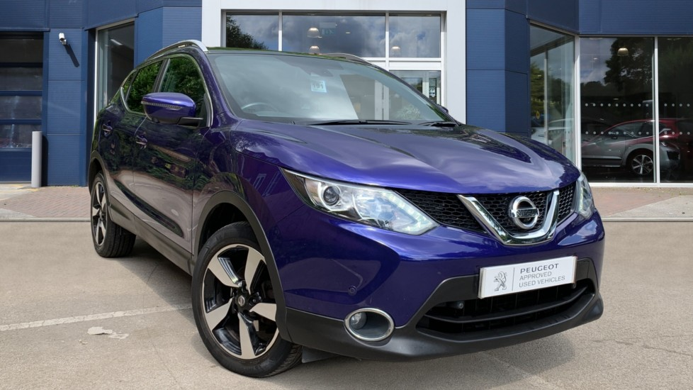 Used Nissan Qashqai SUV 1.5 dCi N-Vision 5dr (18in Alloys)
