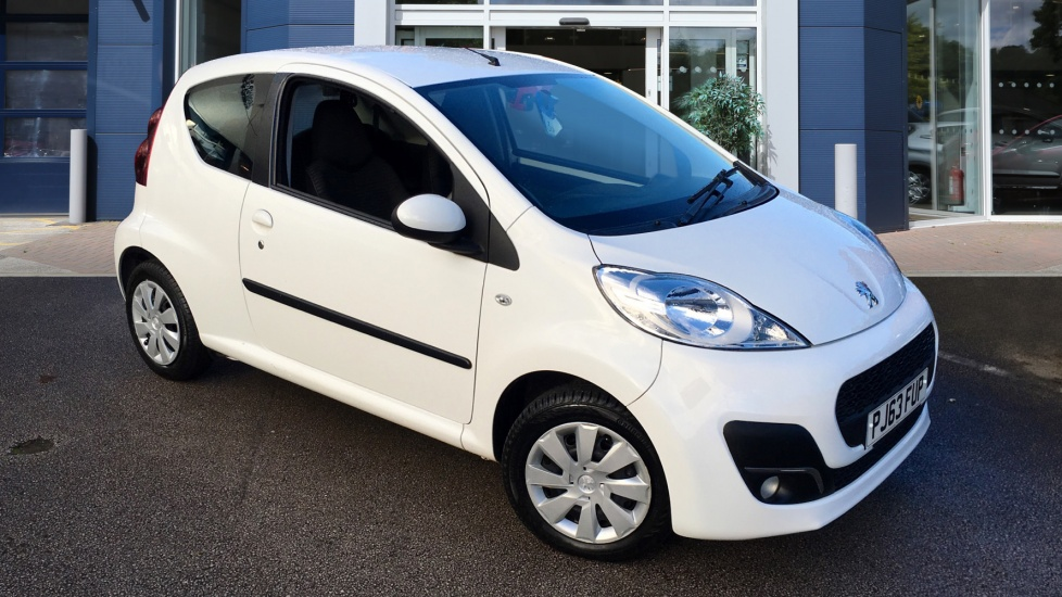 Used Peugeot 107 Hatchback 1.0 12v Active 3dr