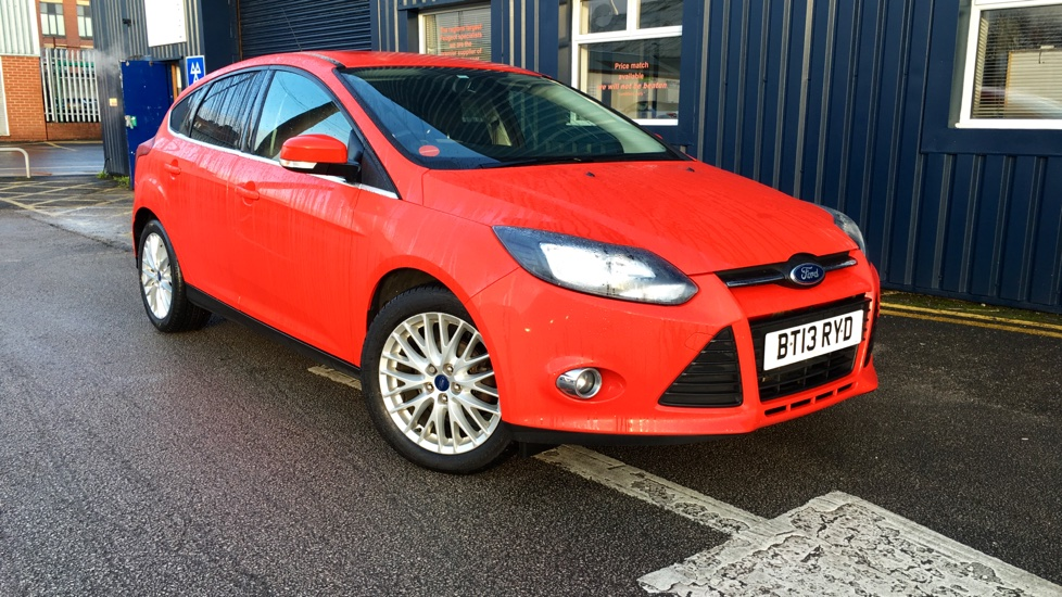 Used Ford FOCUS Hatchback 1.6 Ti-VCT Zetec 5dr