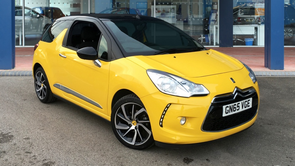 Used DS 3 CABRIO Convertible 1.2 PureTech DStyle EAT6 Cabriolet 2dr (nav, start/stop)