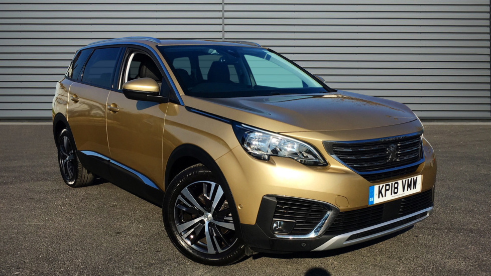 Used Peugeot 5008 SUV 1.6 BlueHDi Allure EAT6 (s/s) 5dr