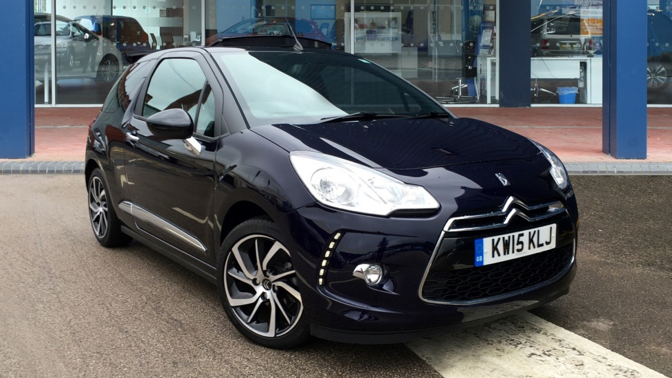 Used Citroen DS3 CABRIO Convertible 1.6 e-HDi Airdream DStyle Plus 2dr