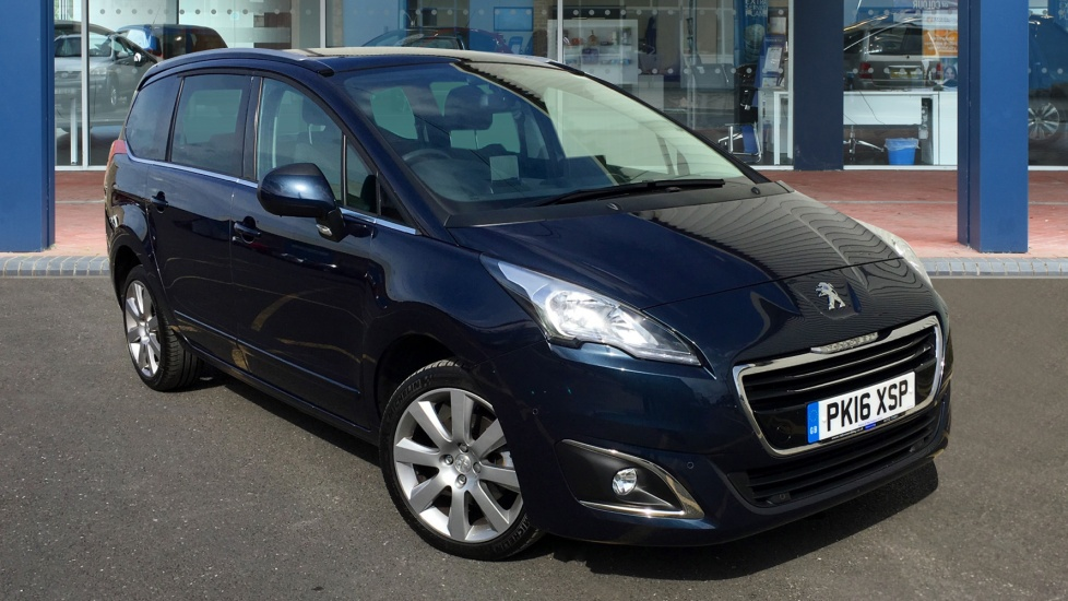 Used Peugeot 5008 MPV 1.6 BlueHDi Allure MPV 5dr (start/stop)