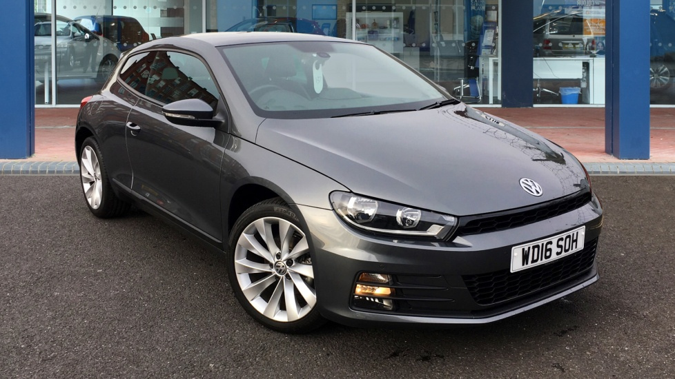 Used Volkswagen SCIROCCO Coupe 2.0 TDI BlueMotion Tech GT Hatchback DSG 3dr