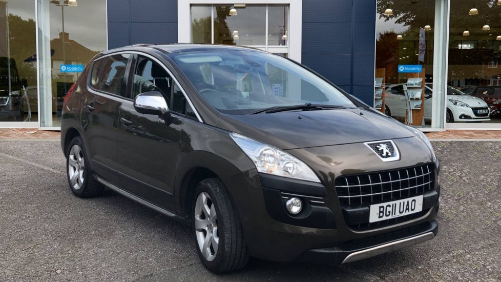 Used Peugeot 3008 SUV 1.6 HDi FAP Exclusive EGC 5dr